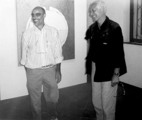 2010 - Con l'artista Jacques Thomann.