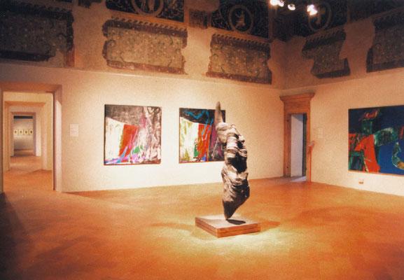 1998 - Enzo Cursaro - Memoria, Forma e Spazio, Museo di Palazzo Ducale - Mantova.