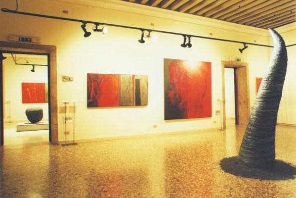 1999 - Enzo Cursaro - Memoria, Forma e Spazio, Museo di Palazzo Agostinelli, Bassano del Grappa..
