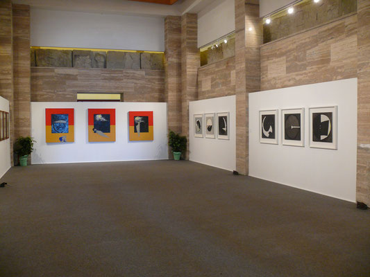 "2009 - Enzo Cursaro - ""Assenza Presenza"" Museo Archeologico Nazionale di Paestum."