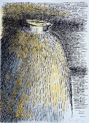 La Giara n°14 - 2016 - 77x104 - acrilico su carta
