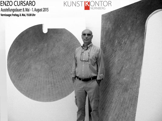 2015 - Enzo Cursaro - Galerie Kunstkontor, Norimberga.