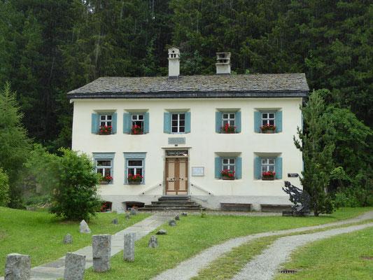 Nietzsche-Haus Sils Maria/Schweiz