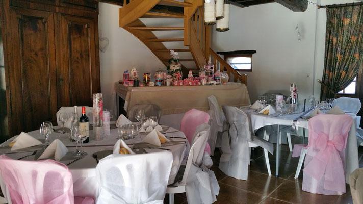 Domaine de Millox, mariage avec bar à bonbons