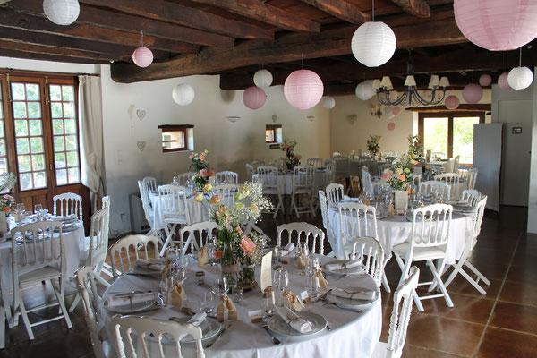 Domaine de Millox, mariage vu de la salle