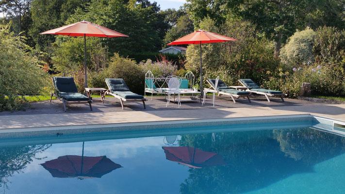 Domaine de Millox, piscine et solarium