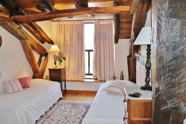 Millox, chambre Patawa coté aménagé pour les enfants avec 2 lits simples