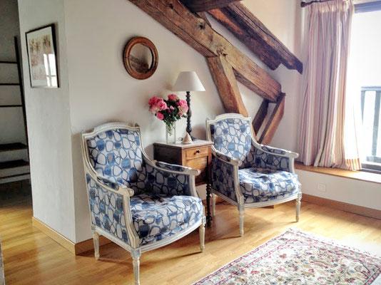 Millox, chambre Patawa coté petit salon