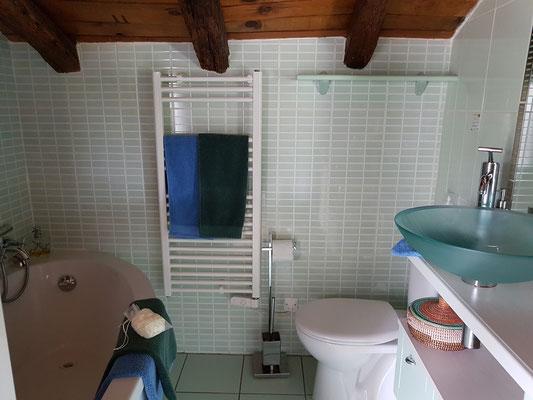 domaine de Millox, salle de bains chambre Patawa