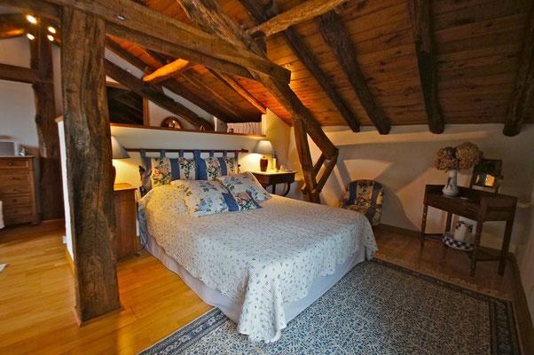 Millox, chambre Patawa, lit en 160