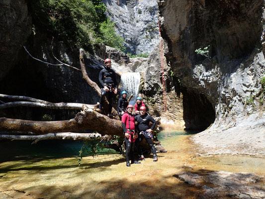 Canyon massif du Mont Perdu (Espagne)