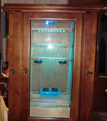 LED Im Cedro Humidor