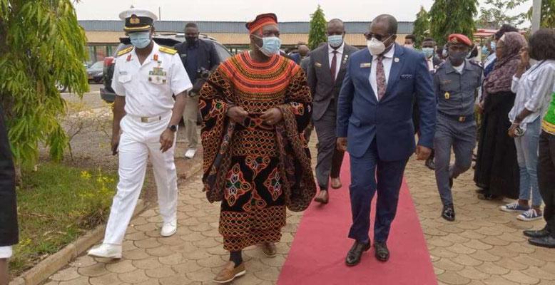 Armand Claude Abanda accueille la Délégation de l'Armée nigériane à Yaoundé