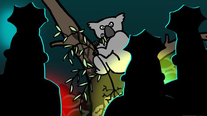 Studio Snugger - De vingerafdruk van een koala en de mens zijn hetzelfde Animatie Christa Moesker Animeer Groningen