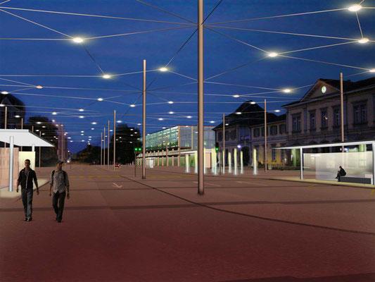 «Juralith» Bahnhofplatz Solothurn, 2001