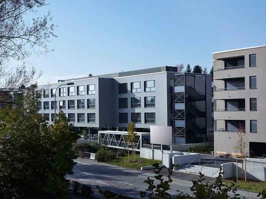 Erweiterung tharad, zentrum für pflege und betreuung, derendingen/luterbach, 2012–2014