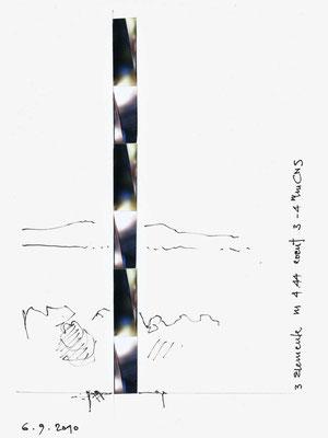 skizze spiegelprisma