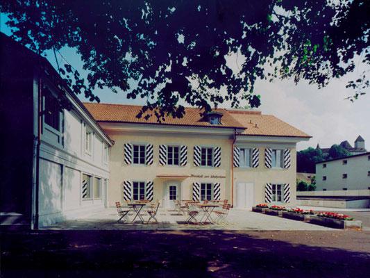 sanierung schützenhaus burgdorf, 1999