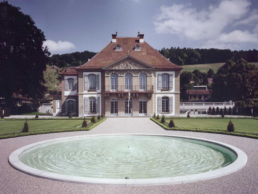 renovation schloss gümligen, 2001