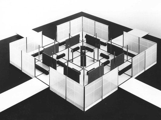 expo lausanne 1964 uhrenpavillon wettbewerb 2. rang