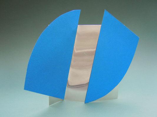 gefaltetes quadrat mit kreissegmenten, modell 2012