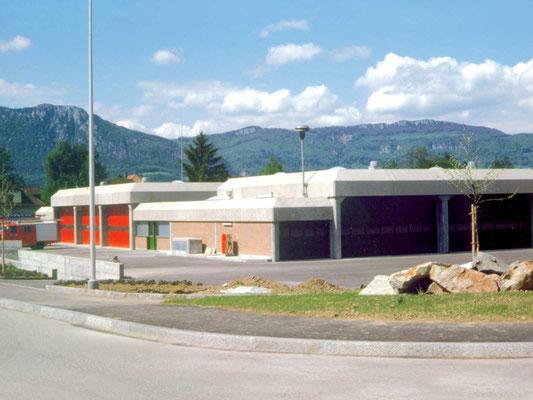 mehrzweckgebäude derendingen, 1997