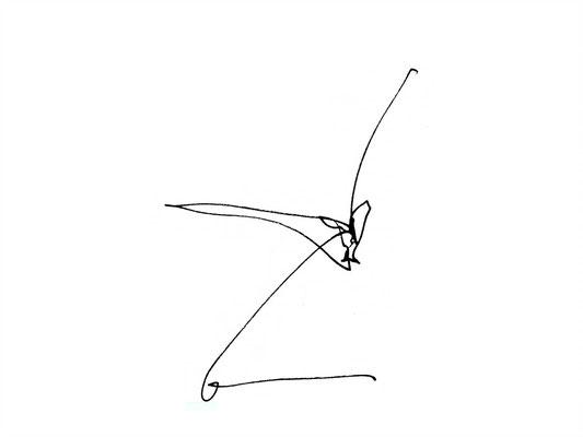 skizze zu stuhl z, 1998