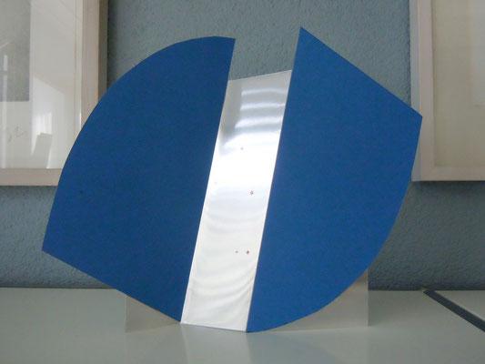 faltquadrat mit segmenten, 2012