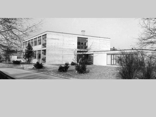 neubau haushaltungsschule derendingen, 1960–1963
