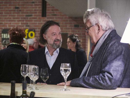 Christoph Rölli, Präsident Kuratorium für Kulturförderung Kanton Solothurn und Stefan Sieboth