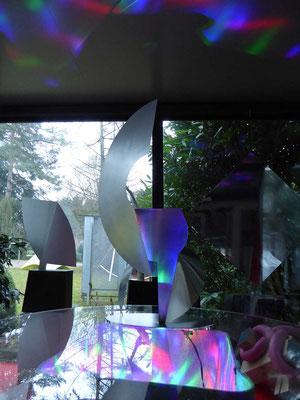 installation mit LED-spiel