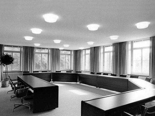 umbau gemeindeverwaltung derendingen, 1969–1977