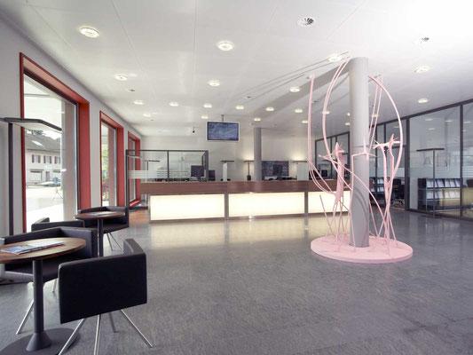 neubau raiffeisenbank derendingen, 2002