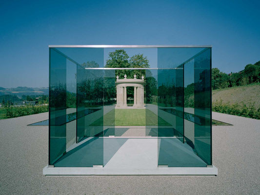 point de vue, 1998, schloss gümligen, 420x420x320