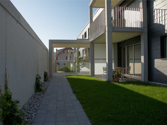 Neubau Mehrfamilienhaus Rüttenen, 2007–2008