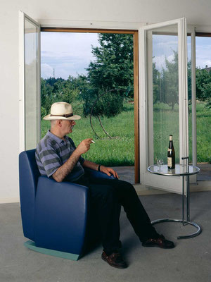 jean mauboulès auf sessel fred, 1992