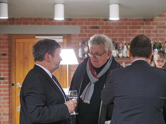 Regierungsrat Roland Heim mit Stefan Sieboth