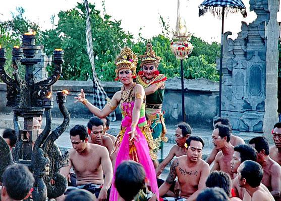 Kecak Tanz -Uluwatu/Bali