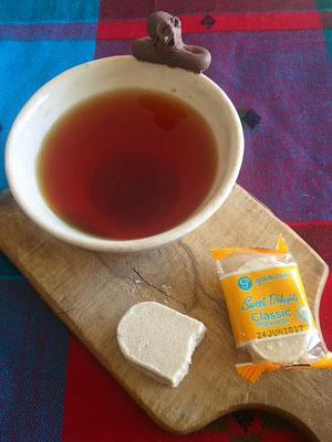 「ケニア山の紅茶」といただきました!