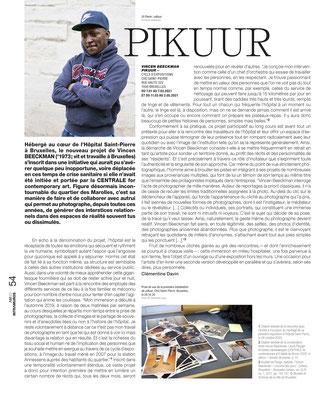 Vincen BEECKMAN / Hôpital Saint-Pierre — L'art même, 2021