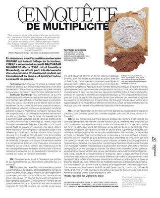 Balthazar BLUMBERG / ISELP — L'art même, 2021