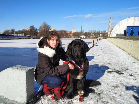питомник ньюфаундлендов в Санкт-Петербурге