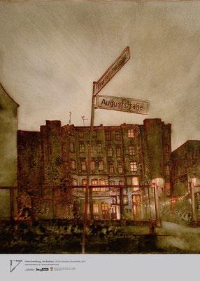 """Frank Lindenberg, """"Das Ballhaus"""", Öl auf Leinwand, (Ausschnitt), 2007"""