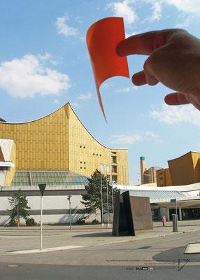 """Ingo Gerken, aus der Serie """"Cityworks"""", Fotografische Intervention, 2010 / 2020"""