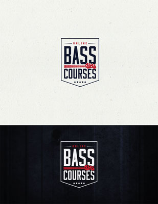 Logo para Online Bass Courses | Logo for Online Bass Courses
