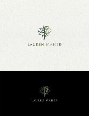 Logo para Lauren Maher, psicoterapeuta | Logo for Lauren Maher, psychotherapist