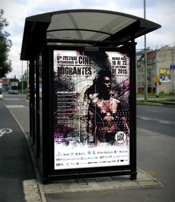 2015: Afiche vía pública / Billboard