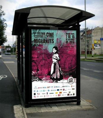 2014: Afiche vía pública / Billboard