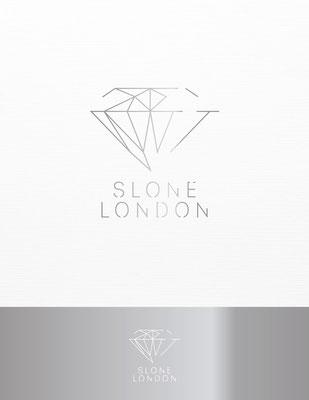 Propuesta de logo para Slone London, elegante y sofisticada tienda online de joyería | Logo proposal for Slone London, an online, elegant & sophisticated jewellery shop