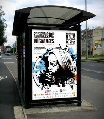 2012: Afiche vía pública / Billboard